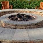 A fire pit makes a great focal point in your yard