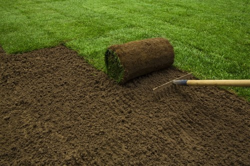 What are the major benefits of sod lawns?